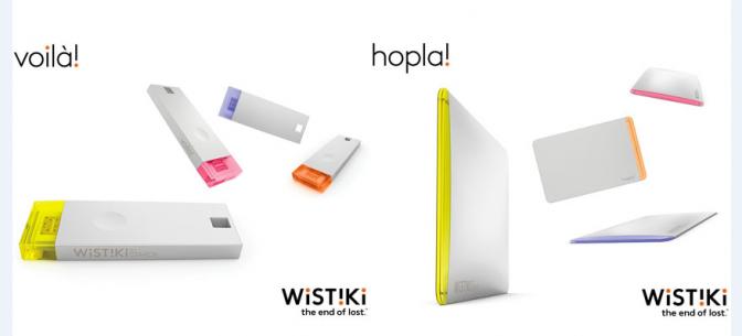 忘れ物が多いあなたに朗報!Bluetooth連動の忘れ物防止タグ「Wistiki」