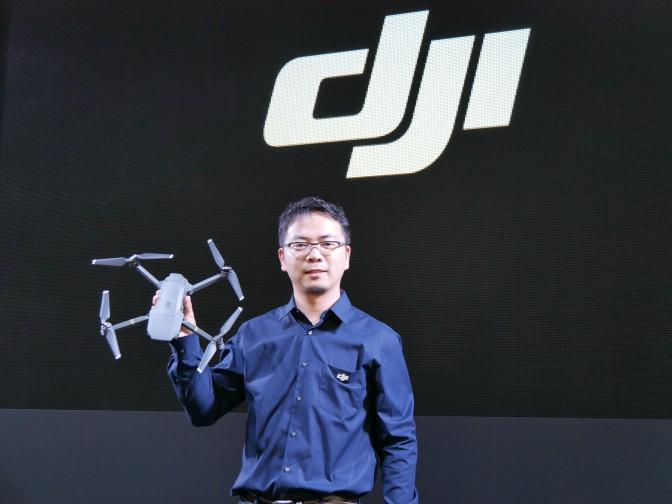 初心者でも扱いやすいドローン【DJI MAVIC】発表