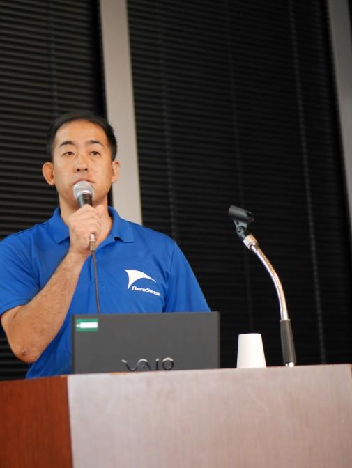 2016年8月31日~9月2日に開催された「ZMPフォーラム2016」で講演する佐部氏
