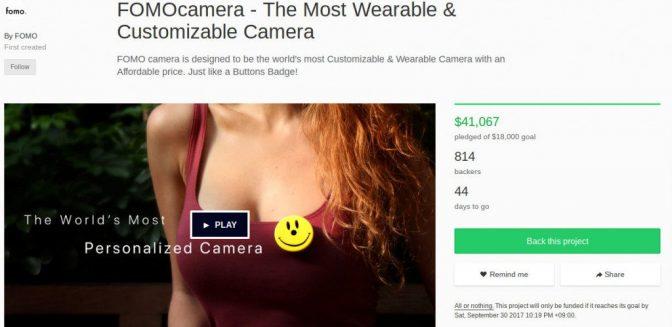 クラウドファウンディング発、高性能超小型ビデオカメラ3選