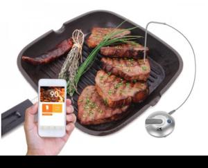 完璧な焼き加減になる、料理上手系スマホガジェット