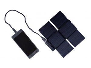 日光さえ出てれば怖くない太陽光スマホ充電器