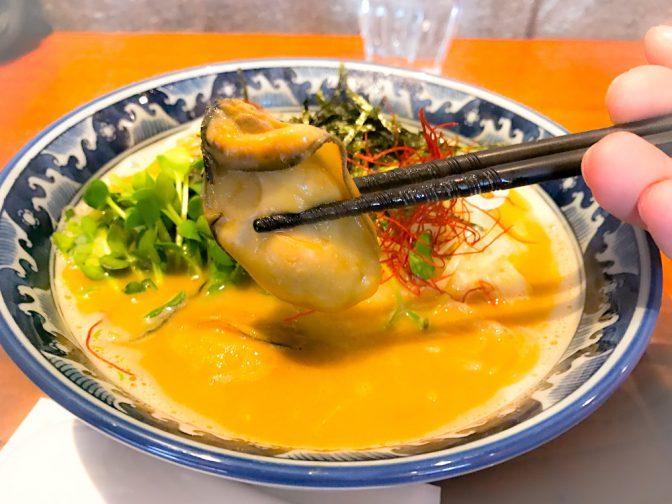 麺や佐市 牡蠣ラーメン