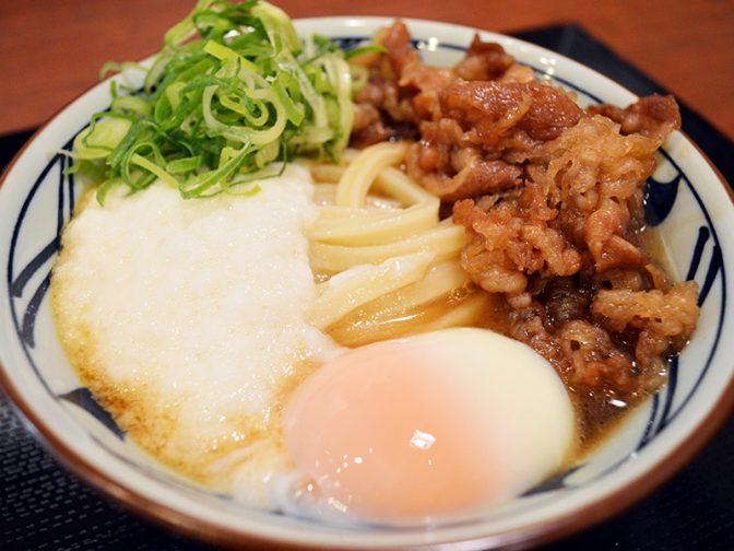 今日から3日間だけ! 丸亀製麺の季節メニュー「牛とろ玉うどん」が半額の340円