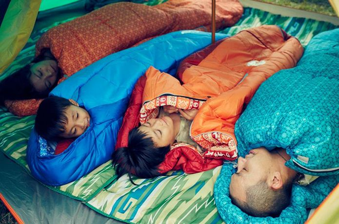 寝袋(シュラフ)