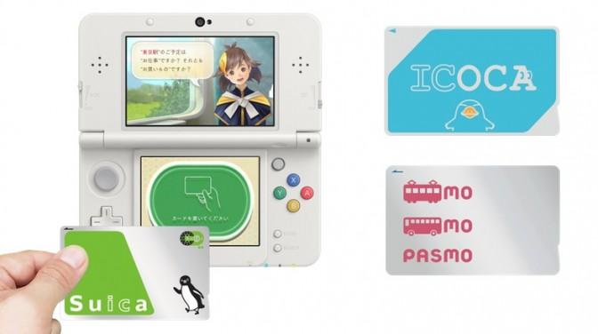 【3DSにSuicaをピッ】カプコンが交通系ICカードを使ったゲームを製作中