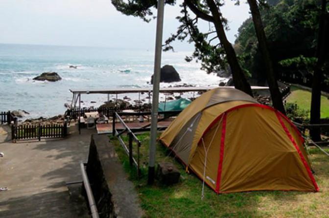 キャンプと海、両方楽しむ
