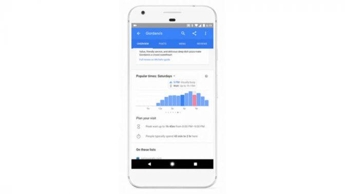 Googleが嬉しいアップデート! レストランの待ち時間を教えてくれる機能を追加