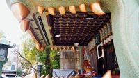 難波のハイテク獅子舞神社が外国人に人気