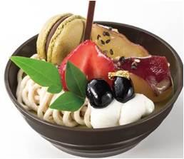〈アンテノール〉お濃茶と和栗のデザート