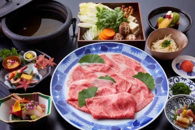 <神戸牛しゃぶしゃぶ会席>