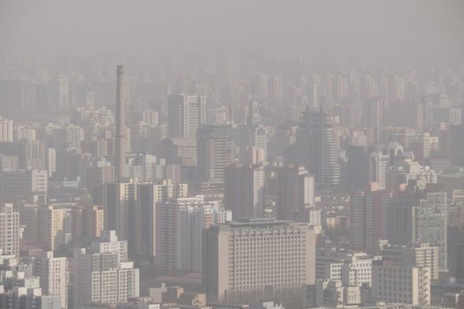 汚染された空気