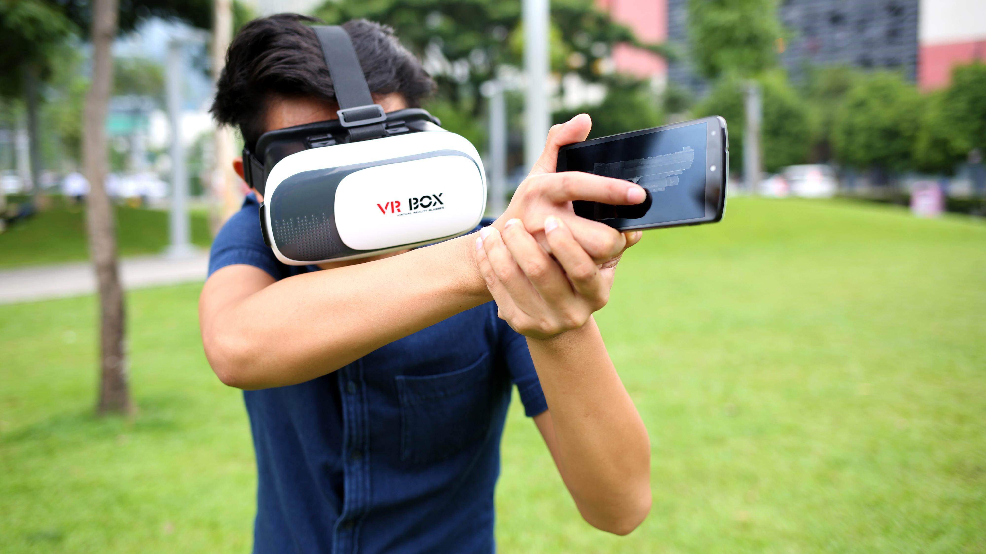 VRモバイルゲーム