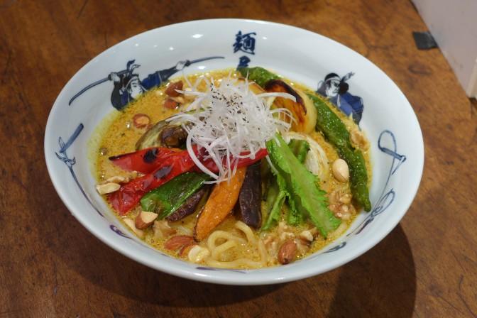 【限定ラーメン】新宿の麺屋武蔵にて