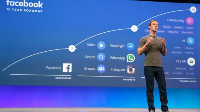 フェイスブックユーザへの影響は?開発者向けカンファレンス「F8」で語られた5つの未来