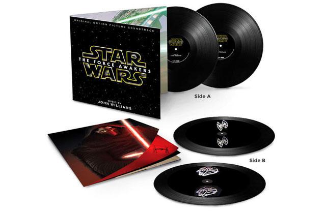 「フォースの覚醒」レコード版サウンドトラック