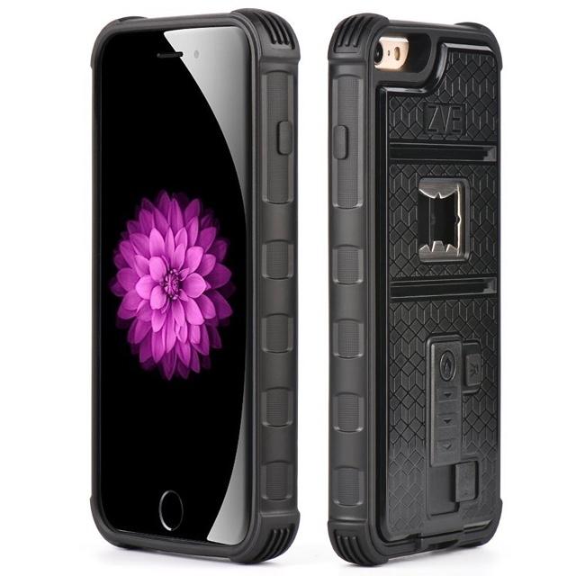 栓抜き、電熱線式ライター、三脚穴という三位一体なZVEのiPhoneケース