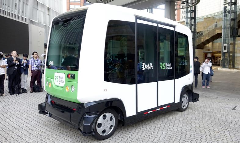 8月から千葉のイオンモールで走る無人運転バス「EZ10」に乗ってみた