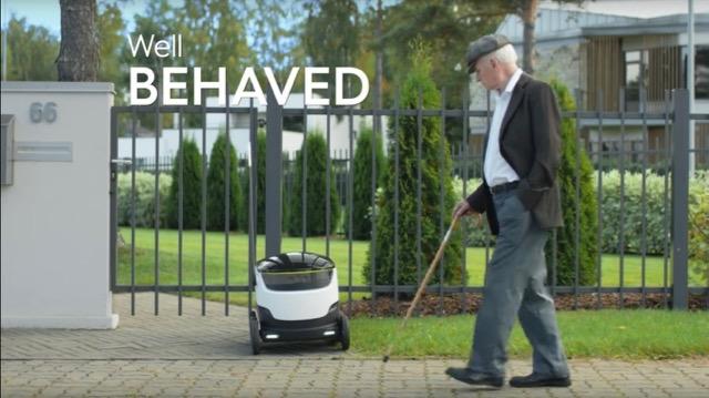 「Starship Technologies」が手がける、ロボットによる自動デリバリー・サービス