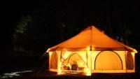 グランピングライフが身近になる8人収容テント