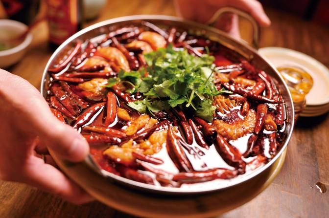 四川伝統 激辛牛肉煮込み