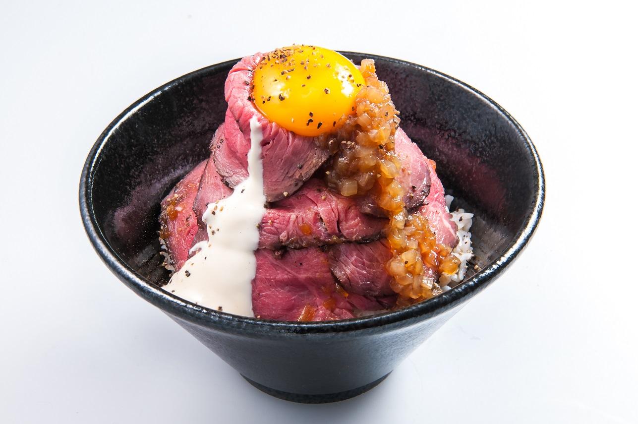 『トルネードローストビーフ丼』1,200円(税込)