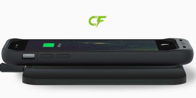 【ライトニングケーブルがぁぁ】iPhone用無線充電対応バッテリーケースがスマートでカッコいい