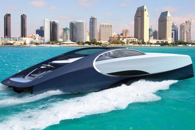 超高級自動車ブランド「ブガッティ」が本気でヨットを作ったらこうなった