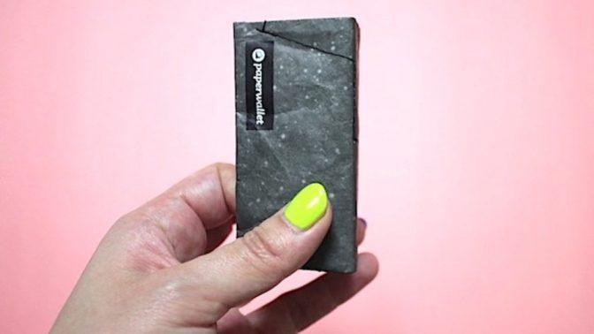 財布はできるだけ小さくしたい人向け! の製品開発中