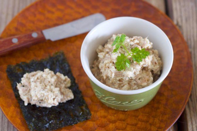 ツナ豆腐クリチ&鮭豆腐クリチディップ