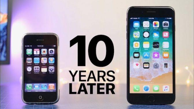 10年間でこんなに変わった! 初代と最新のiPhoneを比較