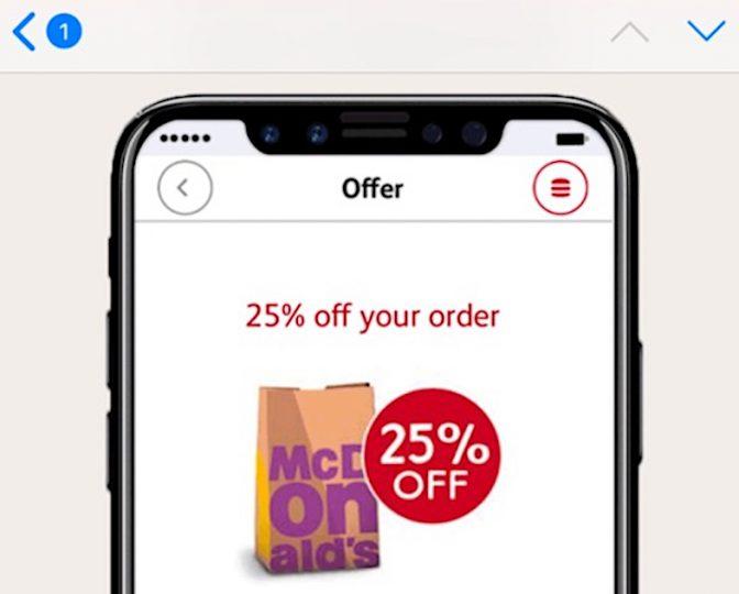ナゼ? 豪マクドナルドの広告で発売前のiPhone 8が使われている?