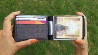 これからはお財布も指紋認証をつける時代へ! 未来型財布『Cashew』がアツい