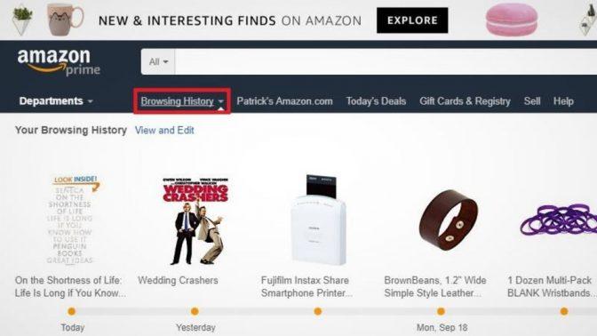わずらわしい広告よサラバ! Amazonの閲覧履歴を簡単に消す方法