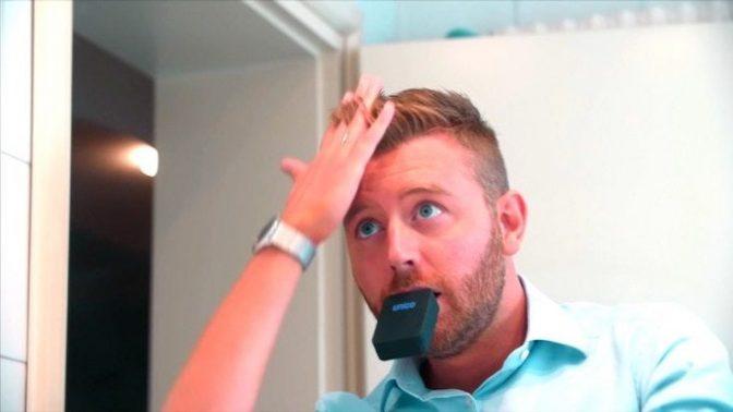 口にくわえて、3秒で歯磨き完了!? マウスピース型歯ブラシ「Unico」が話題