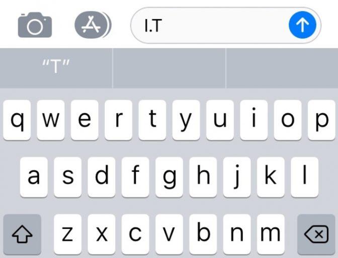 バグ続きのiOS 11、ついに「it」も「is」も打てなくなる