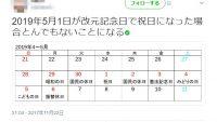 賛否両論。天皇陛下退位にともない5月1日が休日で10連休に?!
