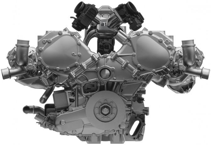 3.5L V6 DOHC ツインターボエンジン