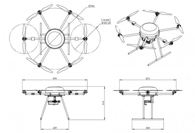 セルラードローン 試験に使用する最小ベースモデル