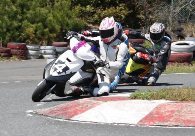 ミニバイクレース FNクラス