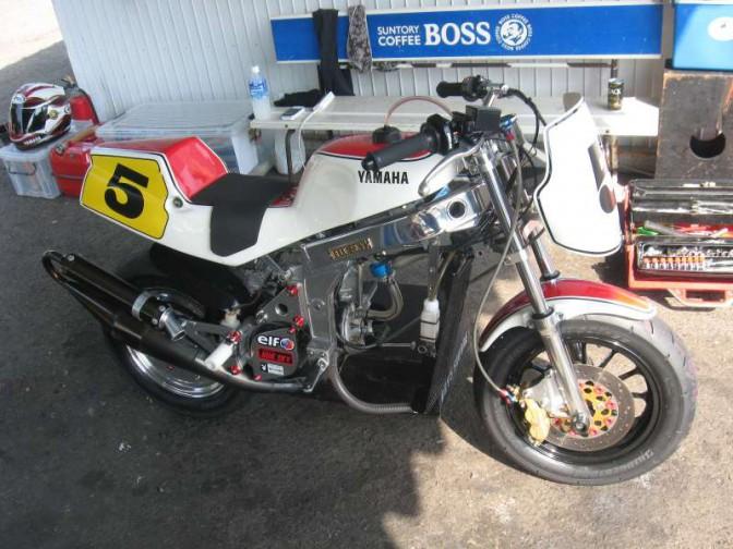 ミニバイクレース FSクラス