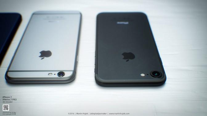 iPhone 7にブラック系新色が