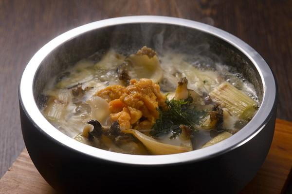 いちご煮鍋/古民家レストラン「南部曲屋」
