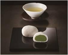 〈料理旅館 吉川〉宇治抹茶上用まんじゅうと宇治茶