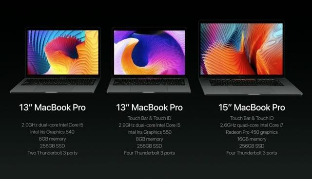 今日からポチれるって。新型MacBook Proシリーズのスペック&値段はこちら 1