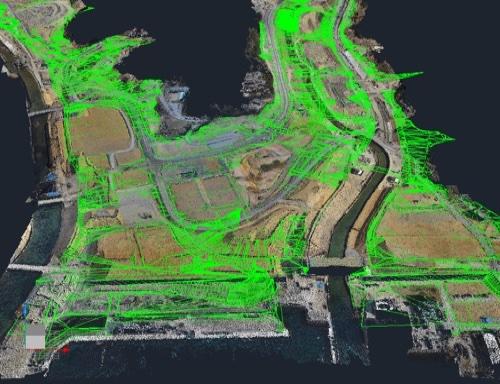 CADモデルと測量結果との合成 http://www.aerosense.co.jp/case003より引用