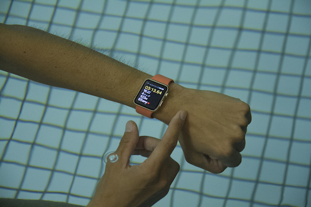 Apple Watch Series 2の新ワークアウト「プールスイミング」をスイマーに試してもらった 4