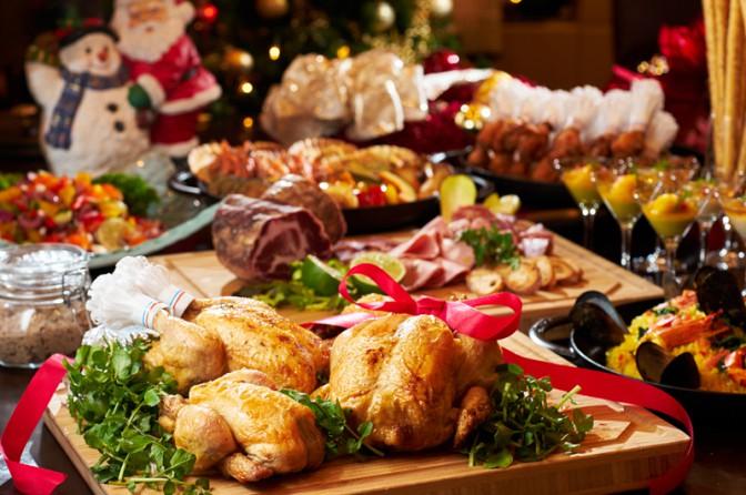 目黒雅叙園のクリスマスフェア