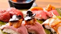 肉の職人が握る寿司