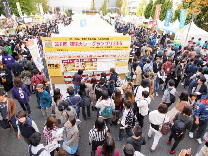 【カレーNO.1決定戦】神田の街がカレーに染まる。カレーの街のHOTなイベント、はじまる